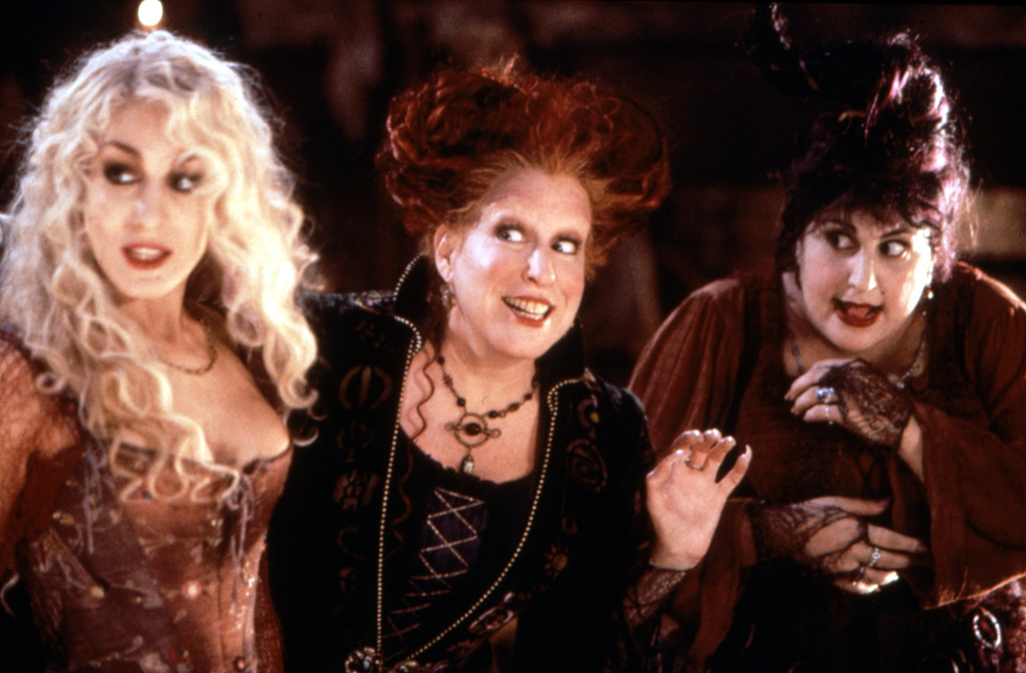 HOCUS POCUS, Sarah Jessica Parker, Bette Midler, Kathy Najimy, 1993, (c)Buena Vista Pictures/courtesy Everett Collection