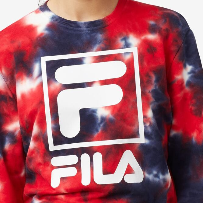 FILA Ashley Tie Dye Sweatshirt