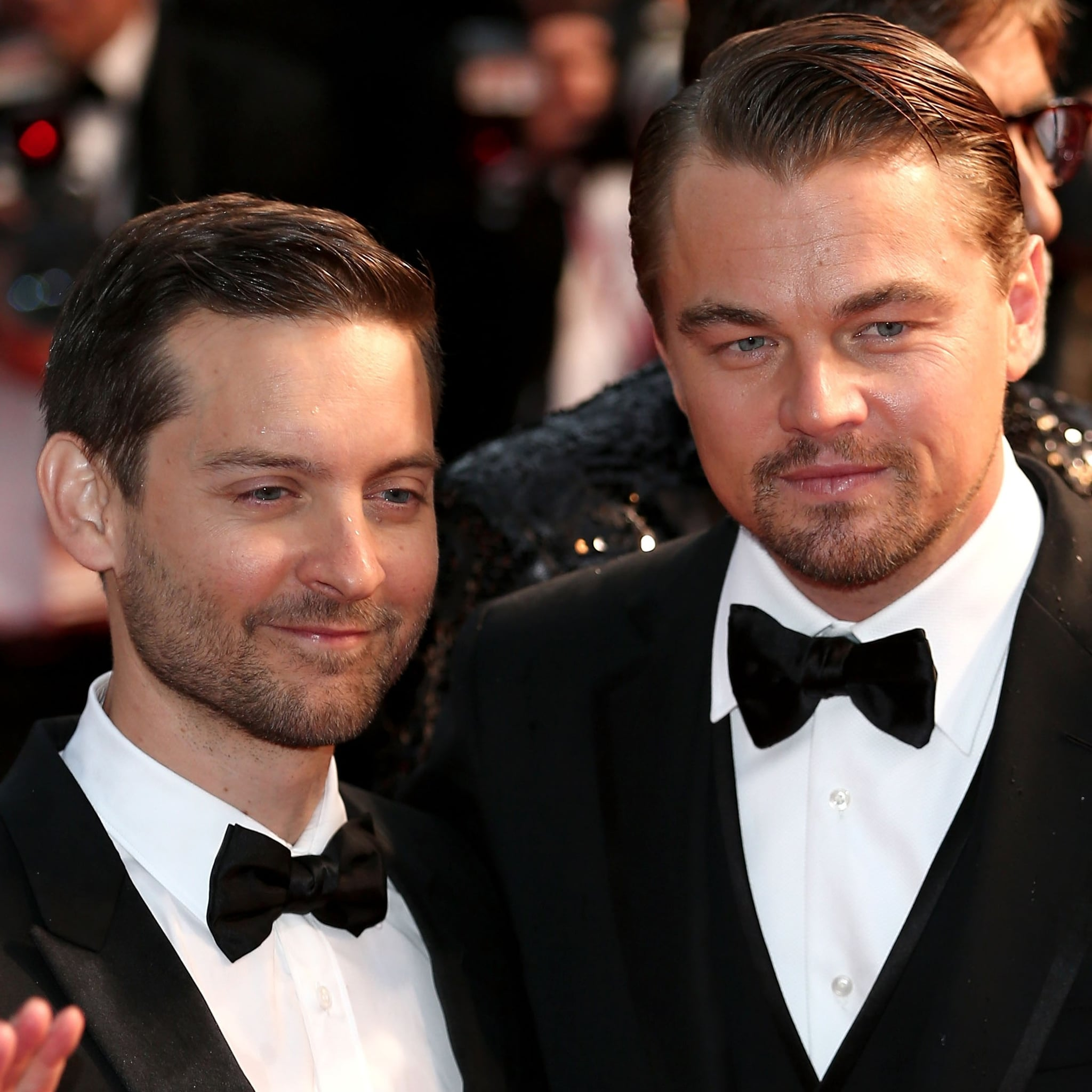 Image result for leo dicaprio and tobey maguire