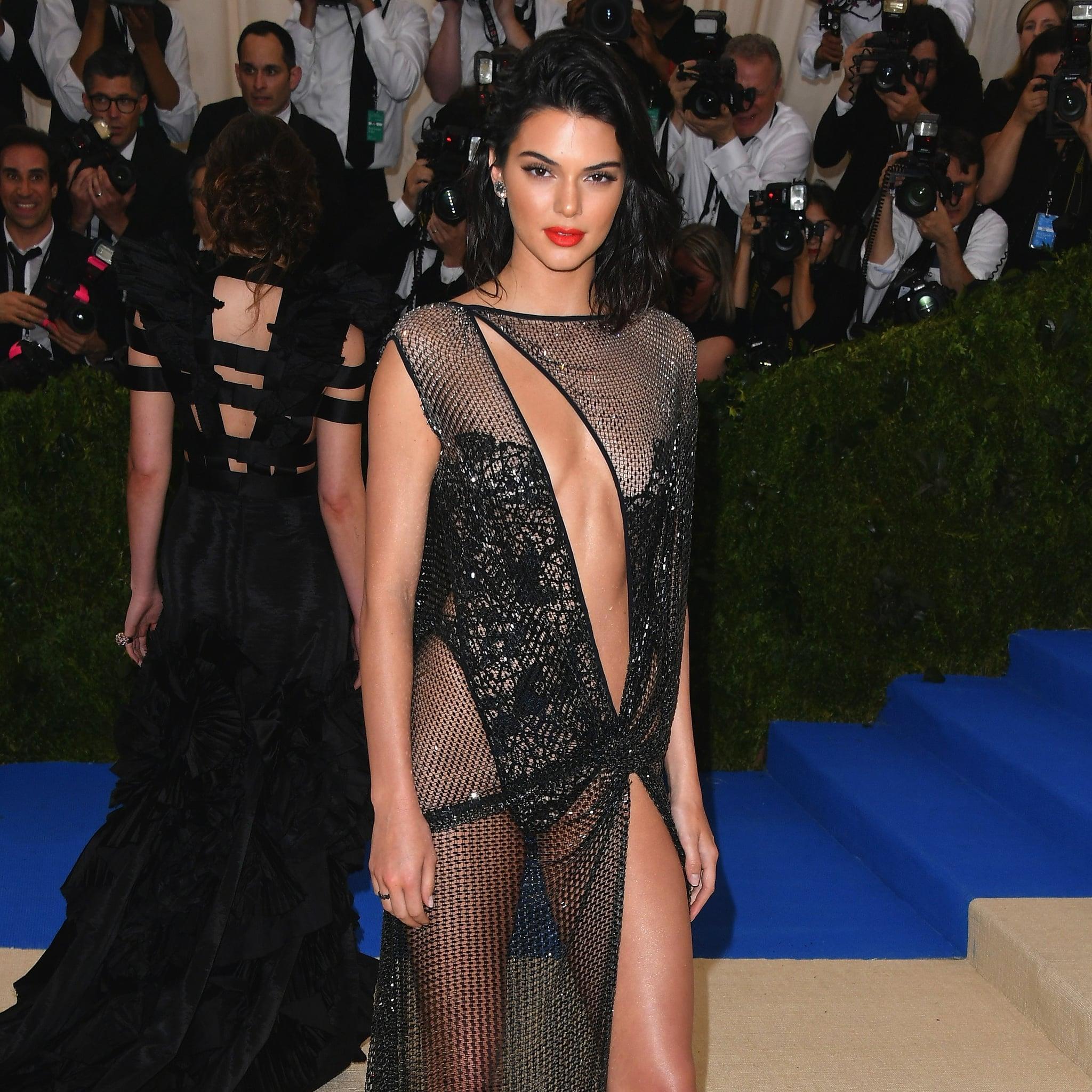 Kendall Jenner in La Perla Dress at Met Gala 2017 | POPSUGAR Fashion
