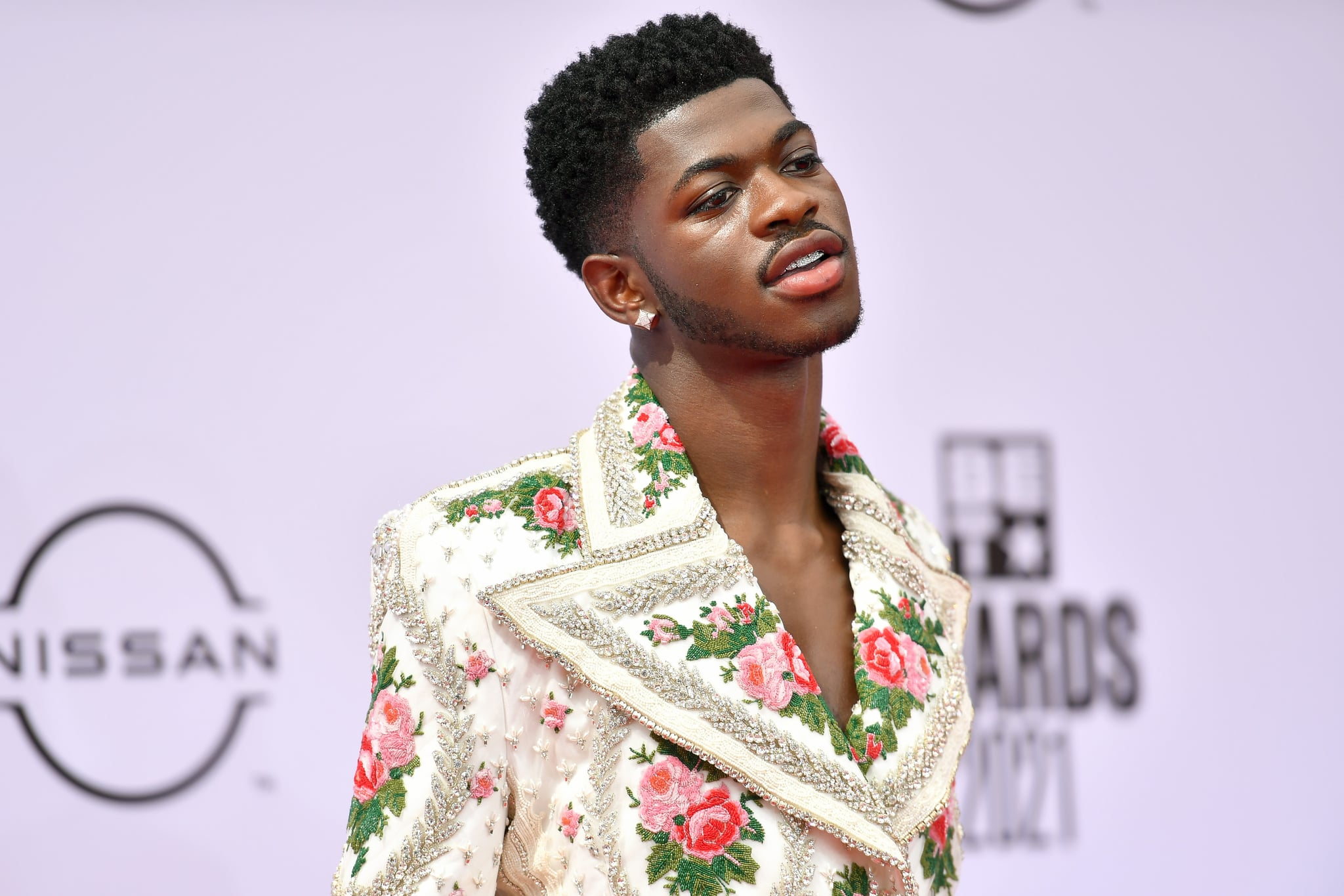 LOS ANGELES, CALIFORNIA - JUNE 27: Lil Nas X attends the BET Awards 2021 at Microsoft Theater on June 27, 2021 in Los Angeles, California. (Photo by Paras Griffin/Getty Images for BET)