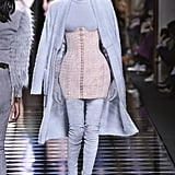 Kendall's Fall '16 Balmain Outfit on the Runway