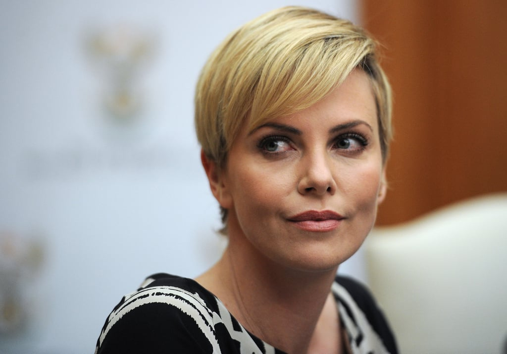 Charlize Theron, the United Nations Messenger of Peace, discussed the importance of empowering young women through education.