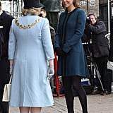 Kate Middleton Goes Underground For a Royal Appearance With the Queen
