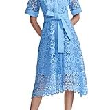 Maje Ralfa Guipure Lace Dress