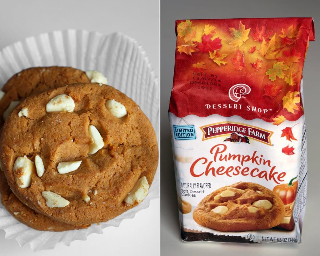 Pepperidge Farm Pumpkin Cheesecake Cookies ($4)