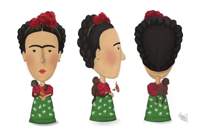Frida Kahlo Action Figure Kickstarter