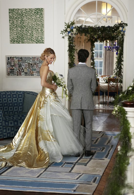 Serena and Dan\'s Wedding Pictures on Gossip Girl | POPSUGAR ...