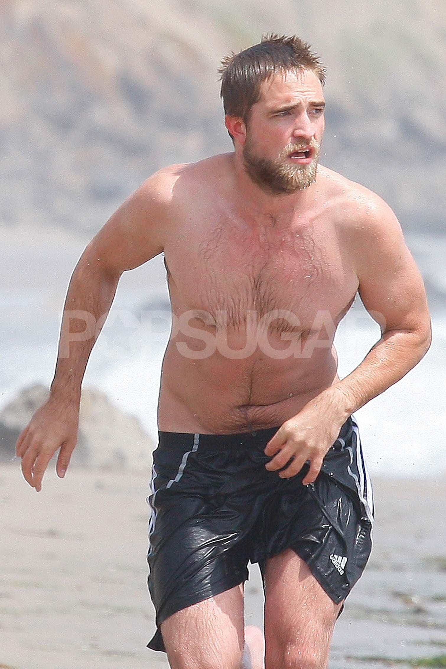Robert pattinson body 2012