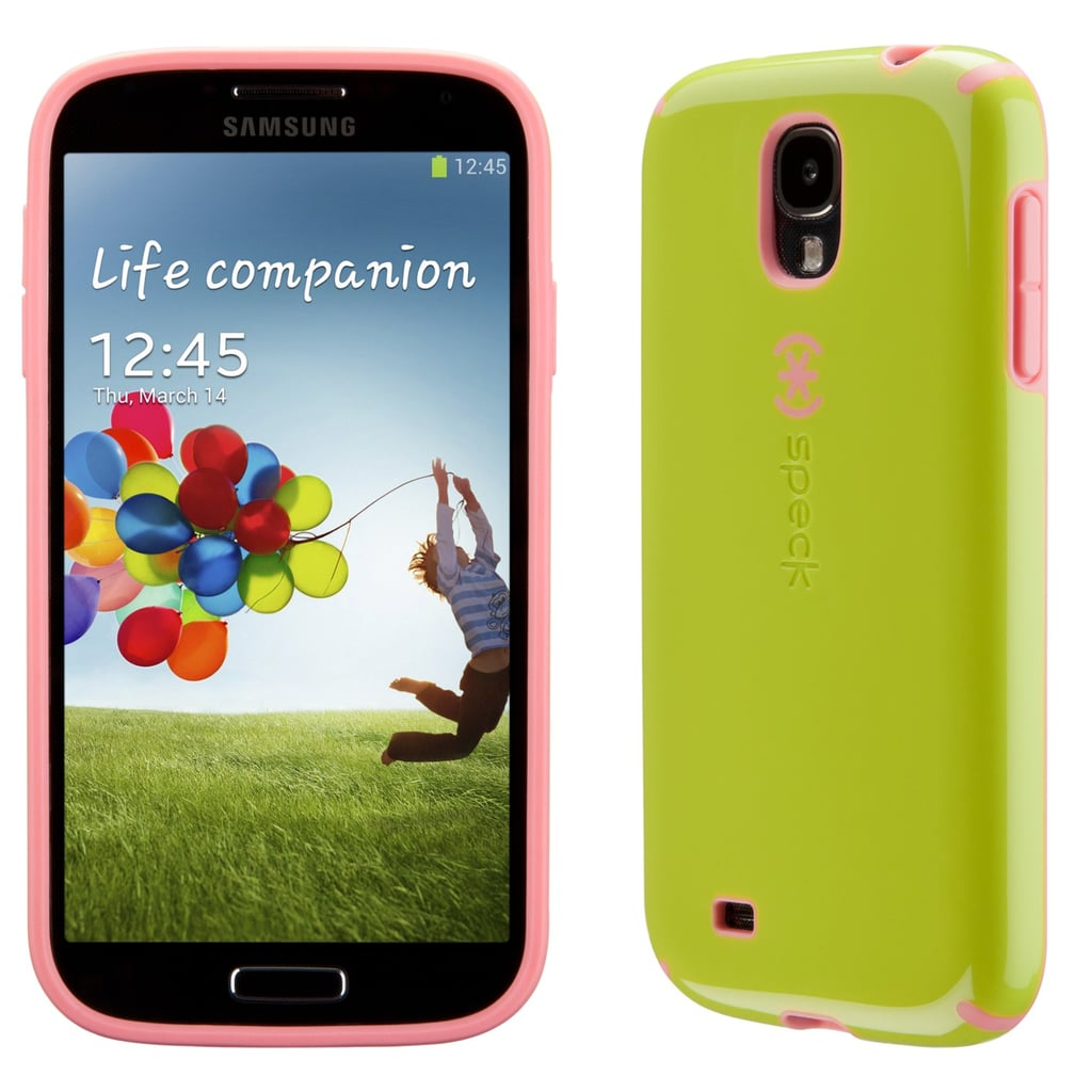 Speck's classic CandyShell Case ($35) gets a Galaxy S4 makeover in some Spring-appropriate colors.