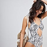 Wolf & Whistle Snake Swimsuit
