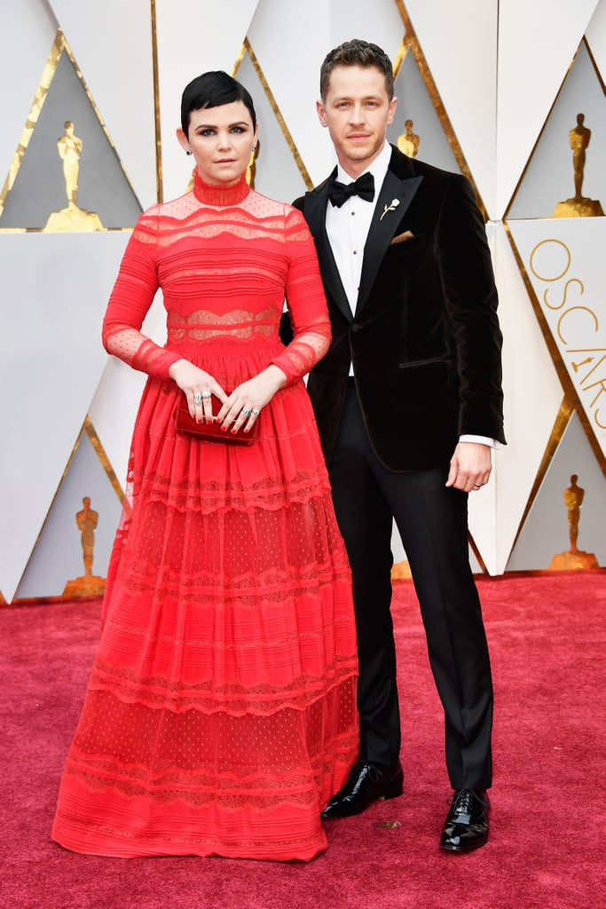 Josh Dallas and Ginnifer Goodwin made a rare yet sweet appearance when they attended the Oscars on Sunday night. The Once Upon a Time couple were picture-perfect as they hit the red carpet ahead of the show. While Josh looked dapper in a dark velvet suit, his wife, whose movie Zootopia is nominated for best animated feature, stunned in a red gown. Just further proof that these two are as charming as their storybook counterparts.