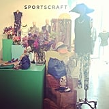 More pretty sights at the Sportscraft S/S '13-'14 showing during the week.