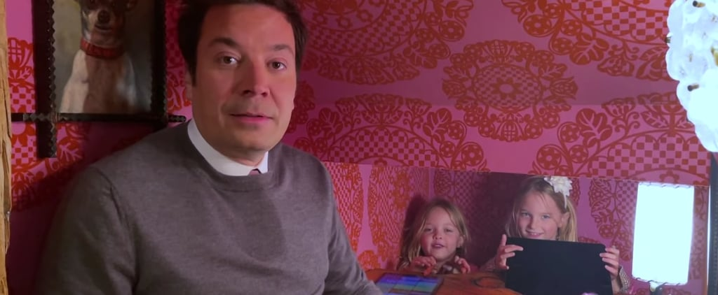 "Jimmy Fallon ""Thank You Notes"" Segment With Kids, March 2021"