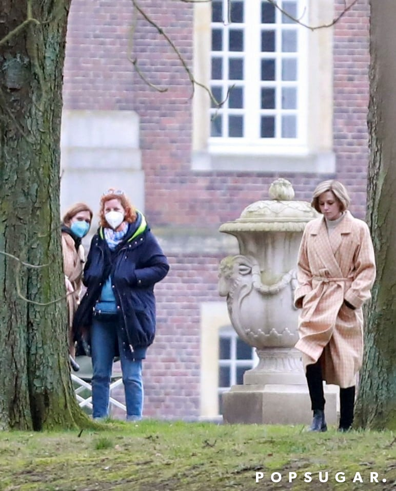Movies, TV & Music | Even More New Photos of Kristen Stewart Channeling Princess Diana on the Set of Spencer | POPSUGAR Entertainment Photo 2