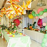 Tropical Girl's Birthday Party