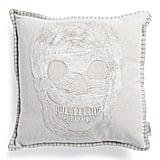 Single Skull Pillow