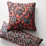 Liberty Throw Pillows Tigris and Wiltshire Berry