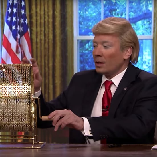 Jimmy Fallon Skit on Donald Trump's Wheel of Decisions