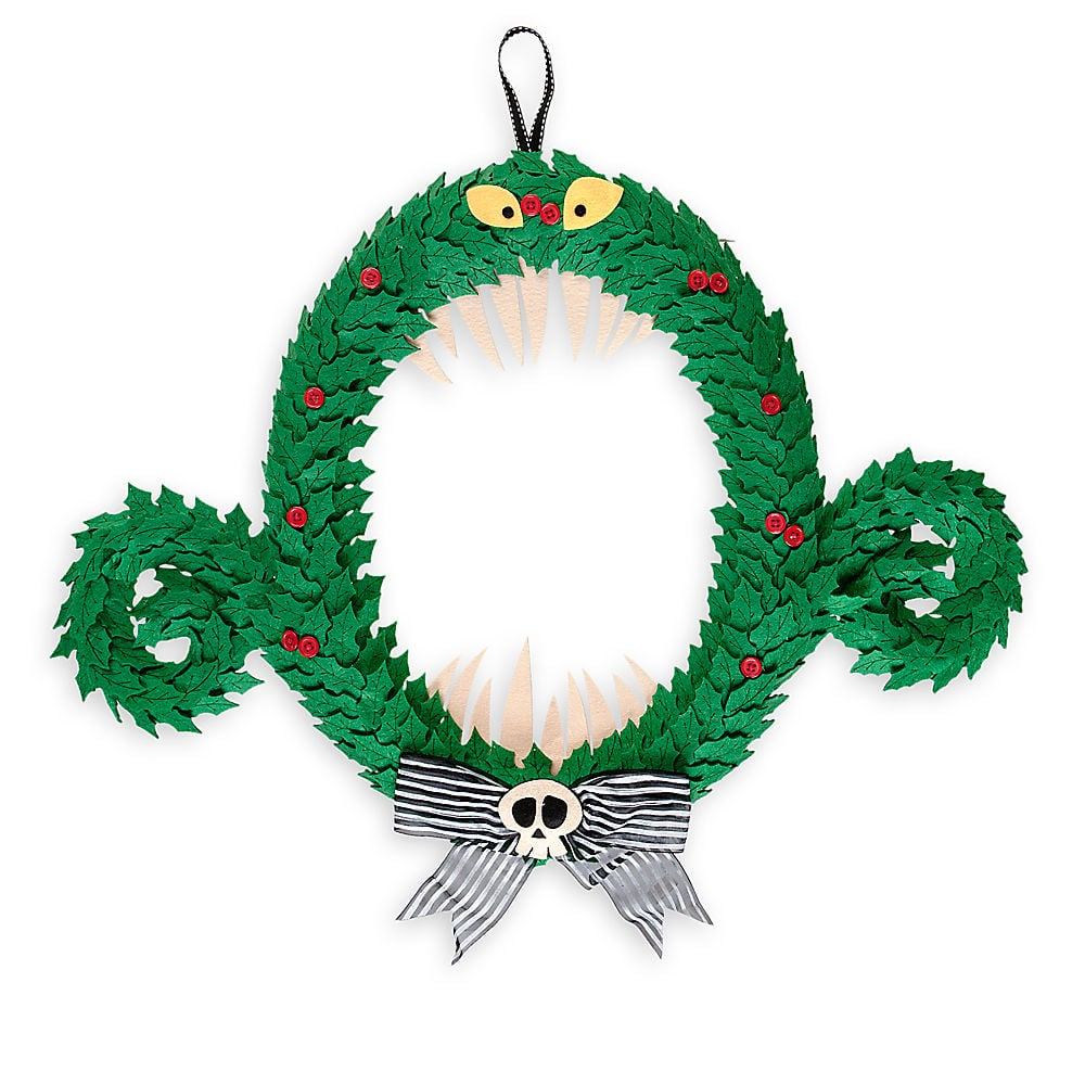 Monster Wreath | Disneyland\'s Nightmare Before Christmas Merchandise ...