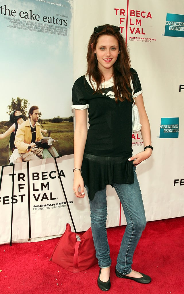 Kristen Stewart attended the premiere of The Cake Eaters at the Tribeca Film Festival in NYC in April 2007.