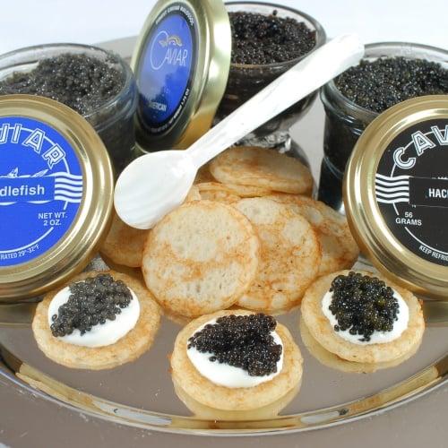 American Caviar Sampler Set