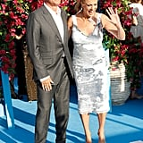 Tom Hanks and Rita Wilson at the Mamma Mia 2 Premiere