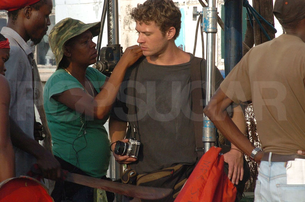 Ryan Phillippe in South Africa
