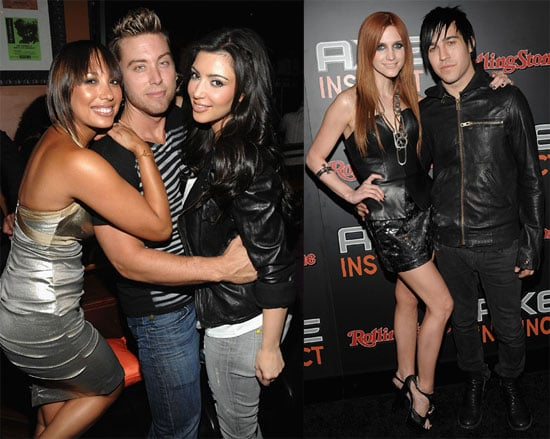 Photos of Ashlee Simpson and Pete Wentz at AXE Nightclub