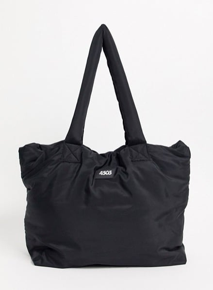 ASOS 4505 Puffer Tote With Internal Bag