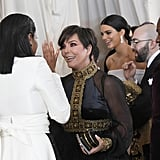 Pictured: Tiffany Haddish and Kris Jenner