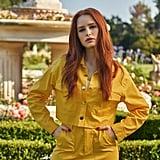 Shein x Madelaine Button Front Flap Pocket Detail Jacket & Skirt Set