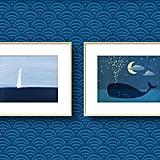 Our Artfully Walls Pick: Our Artfully Walls Pick:Whale of a Tale Pair Framed ($294)