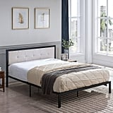 Dede Queen Upholstered Panel Bed