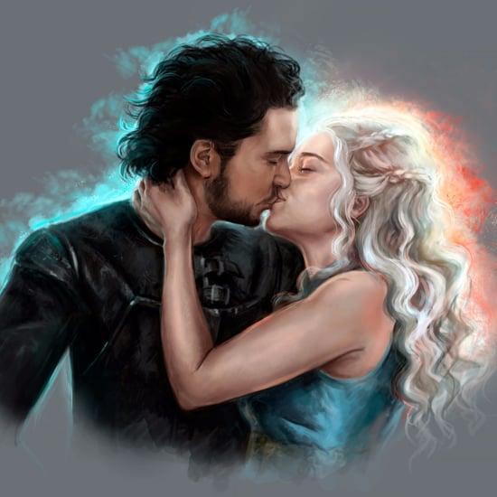 Jon Snow and Daenerys Fan Art