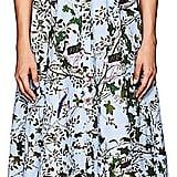 Erdem Women's Kasia Floral Cotton Poplin Shirtdress