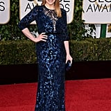 Bryce Wore an Off-the-Rack Jenny Packham Gown to the 2016 Golden Globe Awards