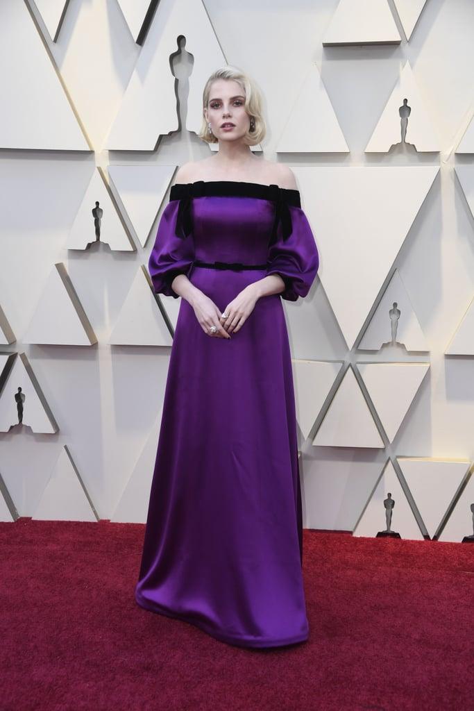 Lucy Boynton at the 2019 Oscars