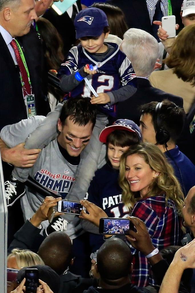 Tom Brady's Cutest Family Photos