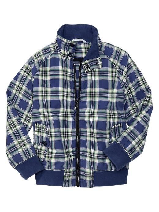 Gap Zip-Front Plaid Jacket ($45)