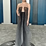 Rowan Blanchard at the Vanity Fair Oscars Afterparty 2020