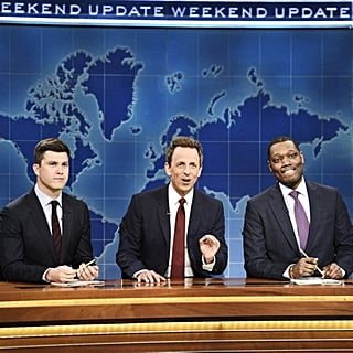 Seth Meyers on SNL Weekend Update October 2018