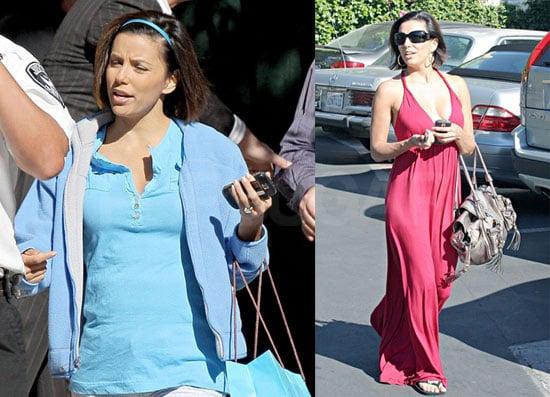 Photos of Eva Longoria on the Set of Desperate Housewives 2008-11-07 14:00:16