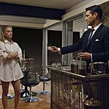 Amber Heard as Maureen and Eddie Cibrian as Nick Dalton on NBC's The Playboy Club.  Photo courtesy of NBC