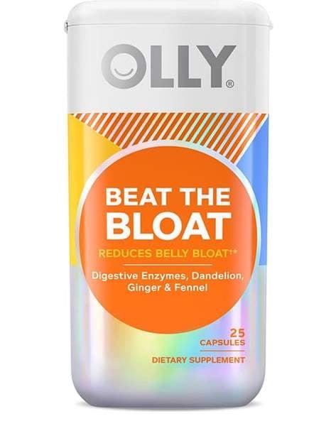 OLLY Beat the Bloat capsules