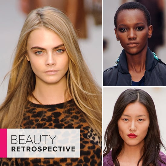 Take a Look Back at Burberry's Runway Beauty Evolution