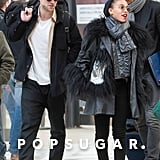 Robert Pattinson and FKA Twigs Arriving in Paris Pictures