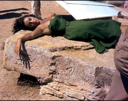 Filming Suddenly, Last Summer in 1959.