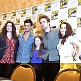 Shannon noted some hilarious quotes at the Breaking Dawn Part 2 press conference.