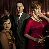 Mad Men 12 nominations total, including:  Outstanding drama series Outstanding lead actor in a drama series, Jon Hamm Outstanding lead actress in a drama series, Elisabeth Moss Outstanding supporting actress in a drama series, Christina Hendricks Outstanding guest actor in a drama series, Robert Morse Outstanding guest actor in a drama series, Harry Hamlin Outstanding guest actress in a drama series, Linda Cardellini